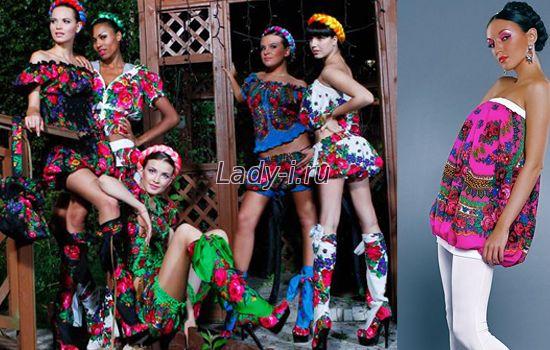 Русский стиль в одежде 1080a09bba2