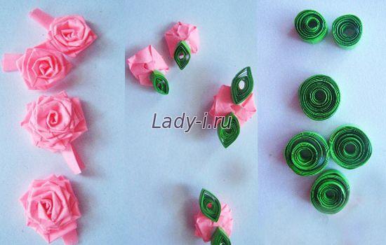 Как сделать розу из квиллинга своими руками 86