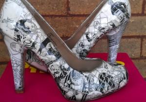 Декупаж обуви своими руками