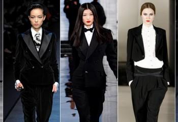 Женский смокинг: модный тренд 2019