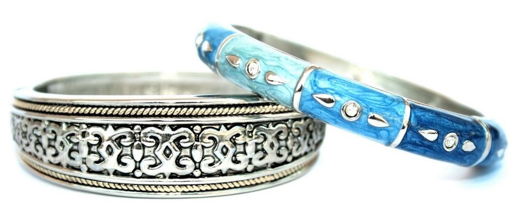 Изысканные серебряные браслеты