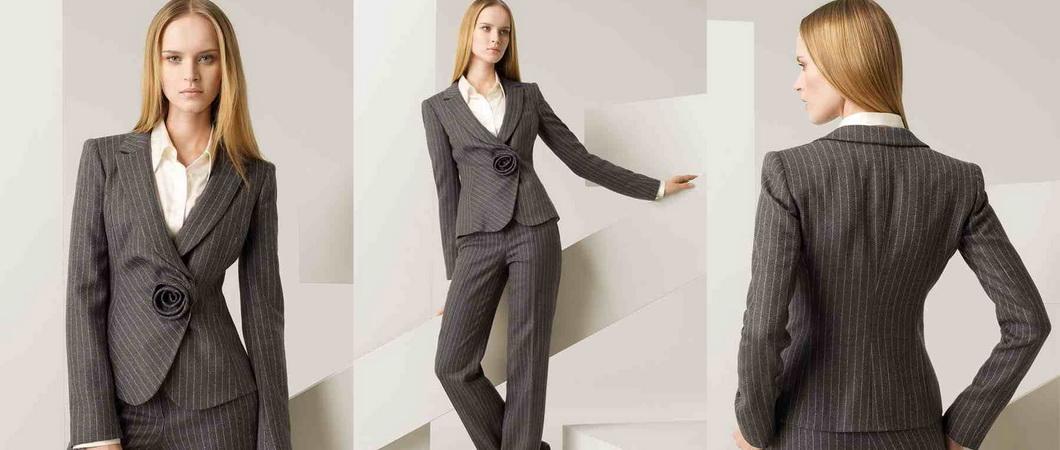 978d1c2ae98 Модные тенденции деловых женских костюмов на осень 2019