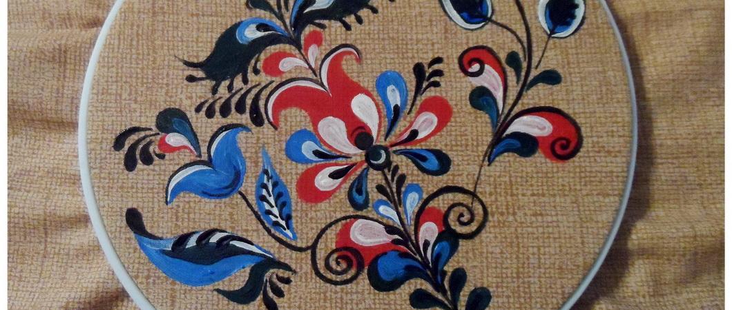 Роспись по ткани: мастер-класс