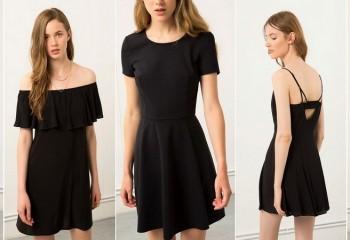 Маленькое чёрное платье 2018. Фото