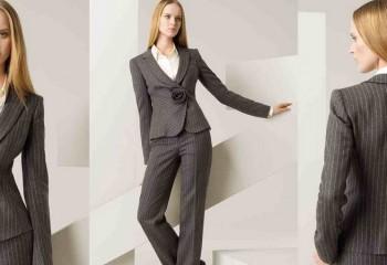 Модные тенденции деловых женских костюмов на осень 2018