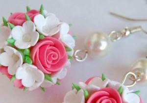 Серьги в технике квиллинг: розы. Пошаговый мастер-класс