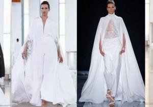 Свадебные наряды «кэжуал» и в русском стиле