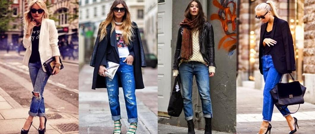 Женские джинсы из модных коллекций