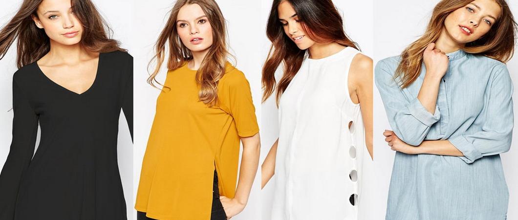 С чем носить тунику: модные тенденции