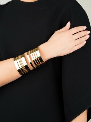модные золотые браслеты 2018