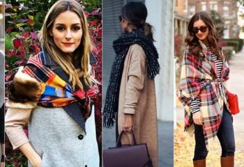 Как красиво носить женский шарф