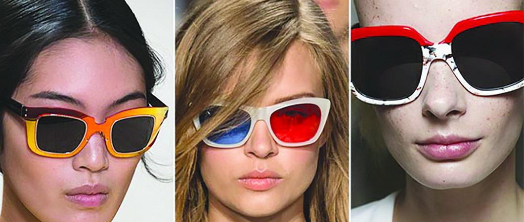 Солнцезащитные очки в коллекциях женской моды-2018