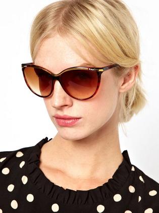 Солнечные очки с ягуаром