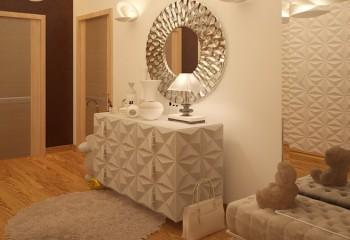 Интерьер прихожей в квартире или частном доме