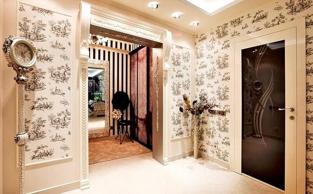 интерьер прихожей в квартире панельного или частного дома фото