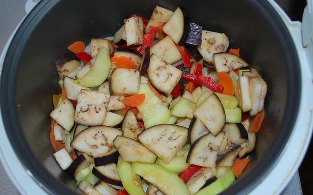 рецепты тушеных овощей для похудения с мясом
