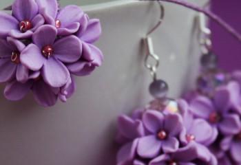 Цветы из полимерной глины: холодный фарфор своими руками