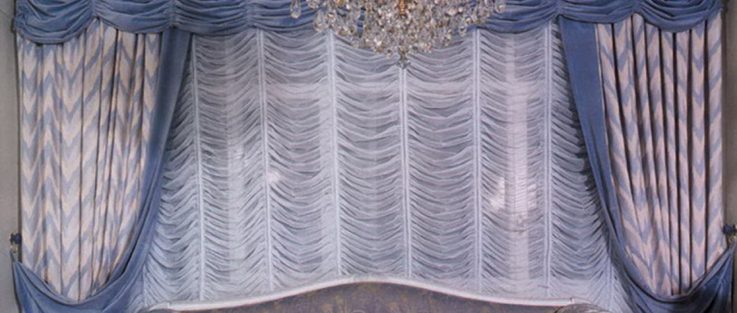 Французские шторы со складками своими руками
