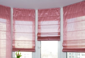 Пошив римских штор на окна своими руками