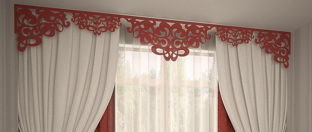 Технология раскроя и пошива штор с ламбрекенами своими руками