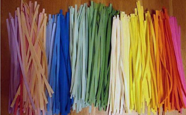0404-04 Работы в технике квиллинг: пошаговая техника изготовления поделок из бумаги для начинающих || Шелковый квиллинг