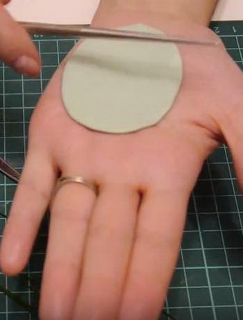 0407h-21 Шарнирная кукла своими руками из холодного фарфора, полимерной глины, запекаемого пластика, папье-маше. Как сделать куклу своими руками из холодного фарфора в домашних условиях