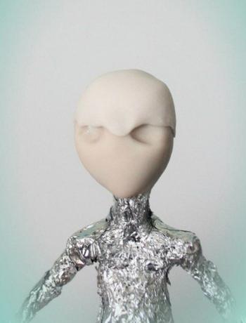 0407h-27 Шарнирная кукла своими руками из холодного фарфора, полимерной глины, запекаемого пластика, папье-маше. Как сделать куклу своими руками из холодного фарфора в домашних условиях