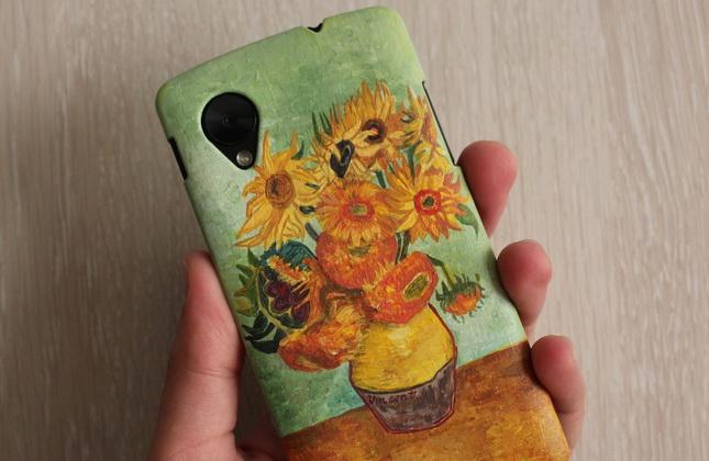 выполняется картинки акриловыми красками на телефон гантелями