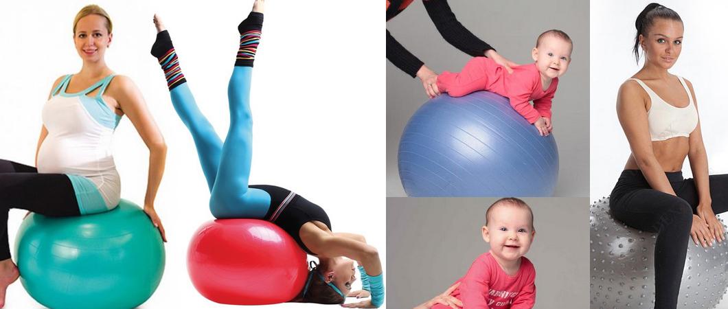 Эффективные упражнения с мячом для фитнеса