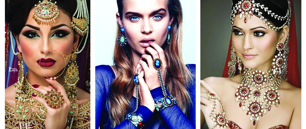 Разнообразный мир женских украшений