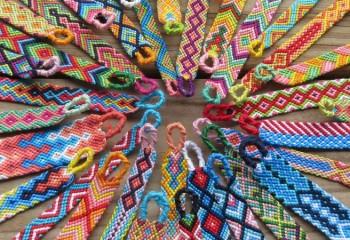 Плетение фенечек: основные техники