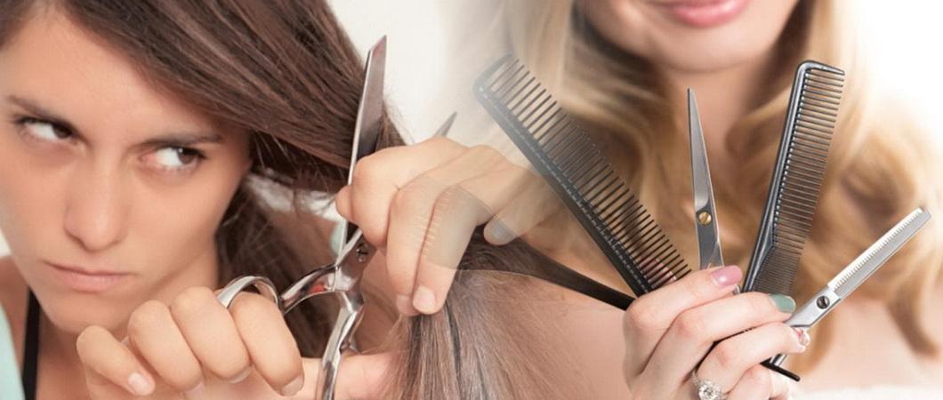 Стрижка волос: правила и методы
