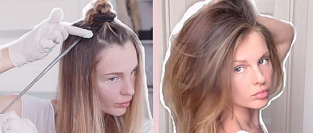 Окрашивание волос: виды и методы