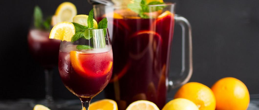 Рецепты вкусного ягодного пунша