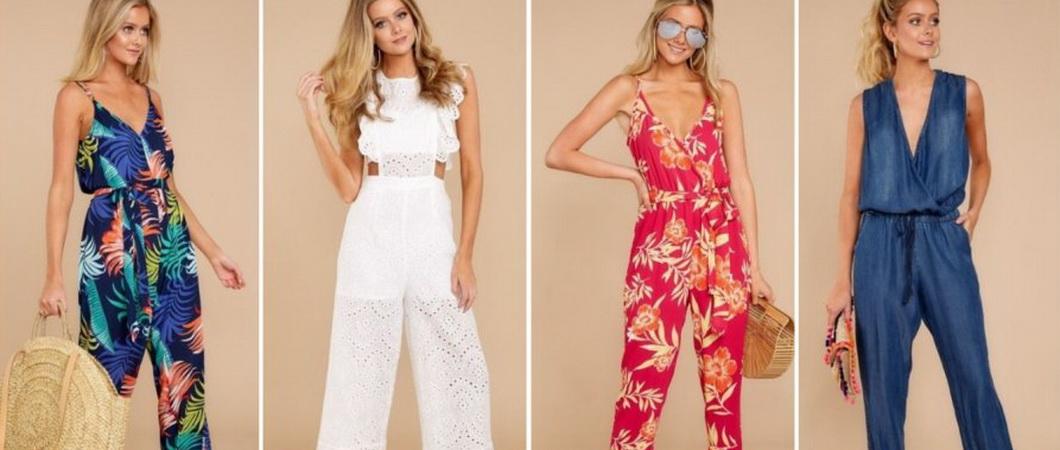 Модные женские комбинезоны 2020-2021