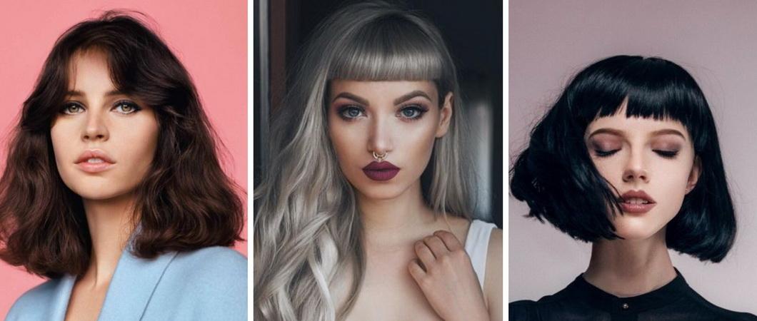 Подбор причёсок к лицам разных типов