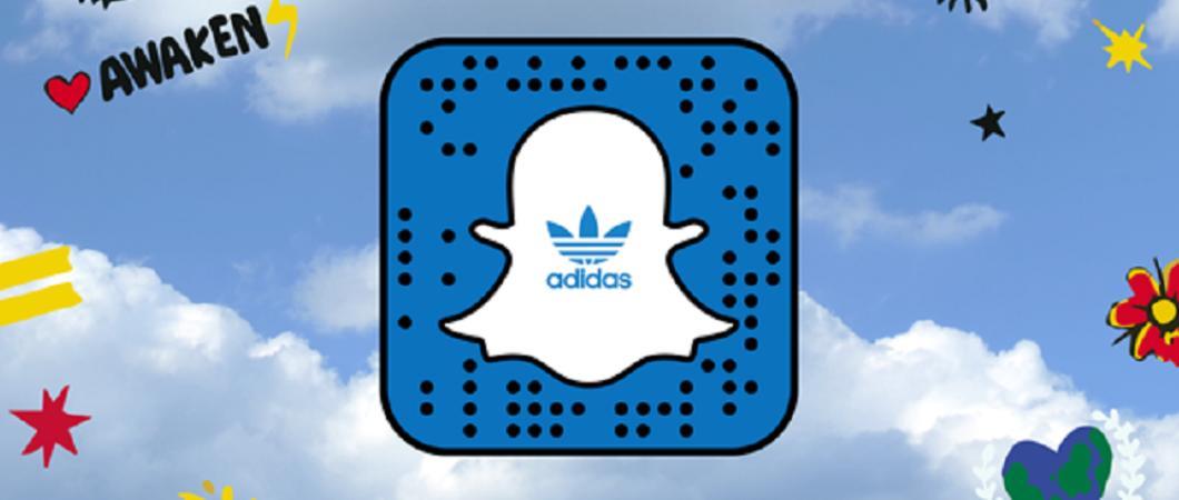 Adidas развивает электронный бизнес с мессенджером Snapchat