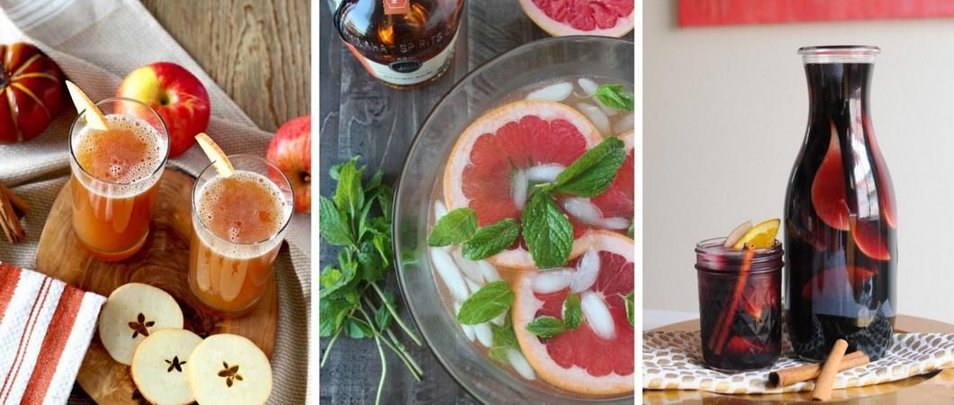 Рецепты вкусного яблочного пунша
