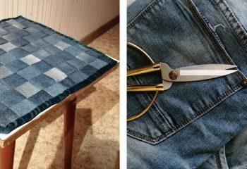 Шьем игрушки из старых джинсов