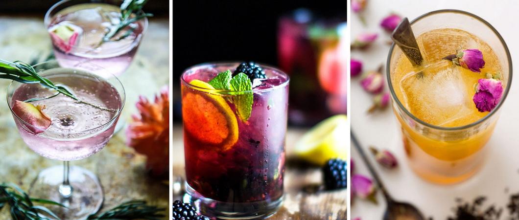 Шампанское из листьев винограда и смородины