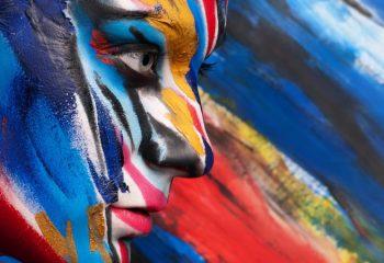 Краски, используемые в боди-арте