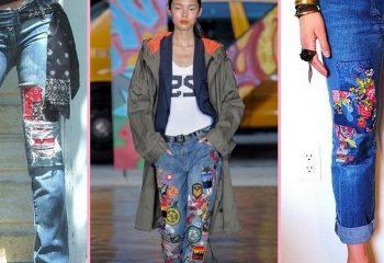 Декорирование джинсов своими руками