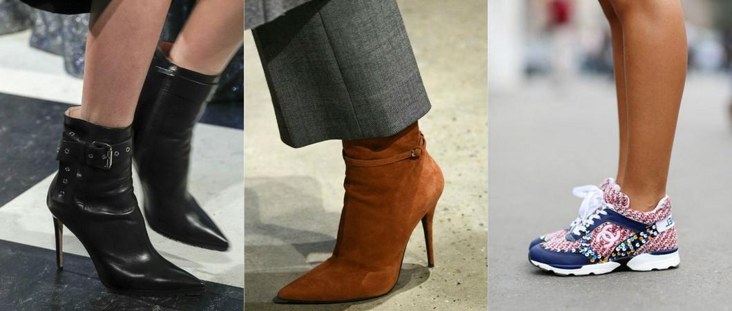 Обувь на осень и зиму: тренды 2020-2021