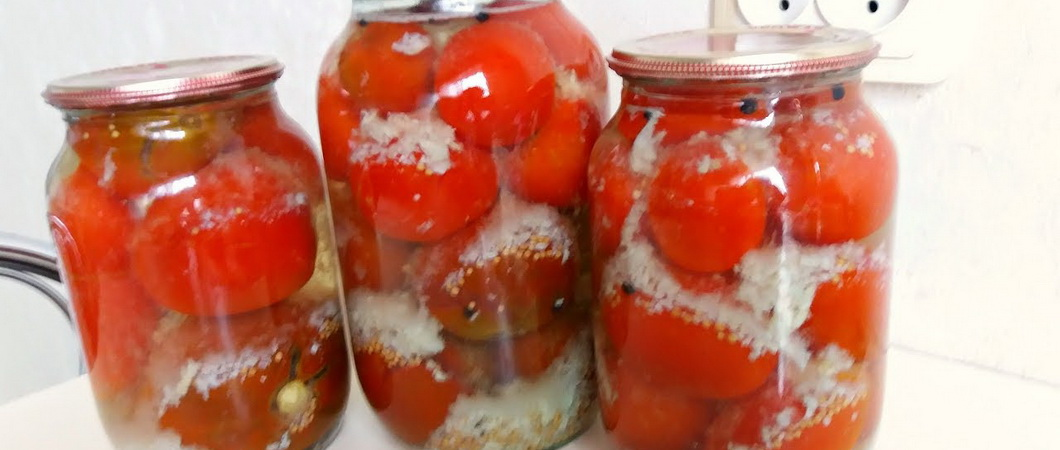 Как мариновать помидоры с чесноком