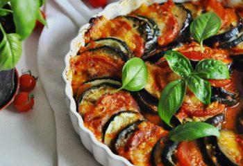 Как приготовить овощной рататуй