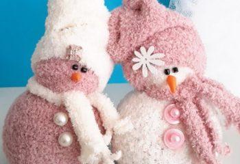 Делаем снеговика в домашних условиях