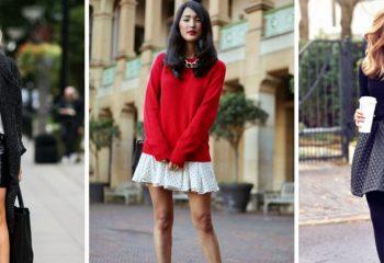 Мини-юбки: стильные образы