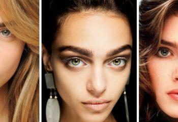 Модная форма бровей: тенденции 2021 года