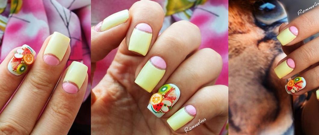 Как сделать фимо-дизайн ногтей