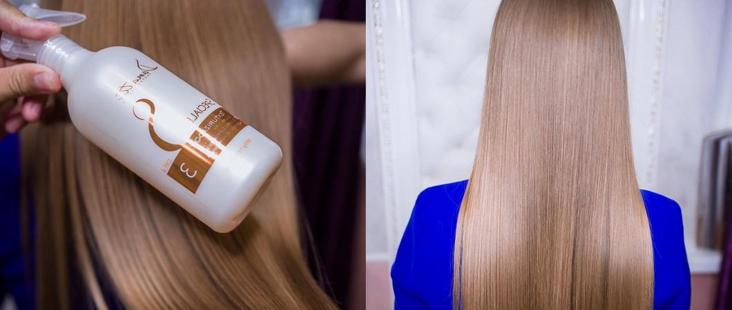 Реконструкция поврежденных волос